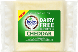 Koko Cheddar Cheese Alternative