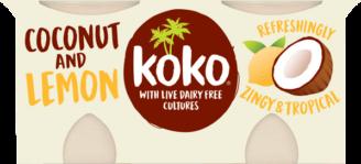 Koko Coconut & Lemon Yogurt Alternative