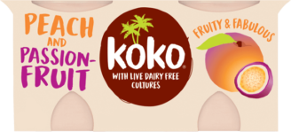 Koko Peach & Passionfruit Yogurt Alternative